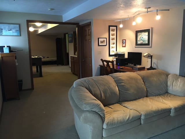 Lake Community, Private Walkout Suite