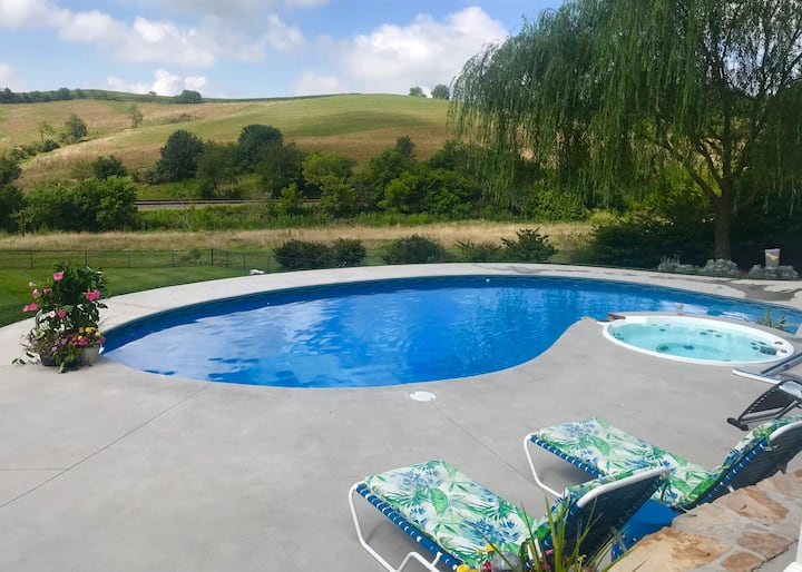 The Empty Nest...House & Pool with a View!
