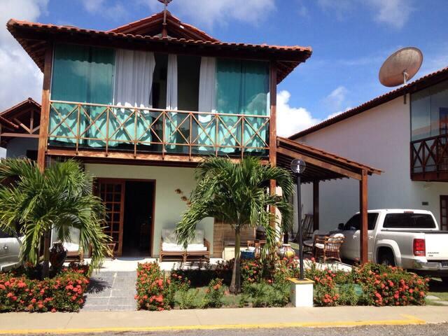 5 rooms house in a closed condo. - Enseada dos Carneiros, Tamandaré  - Dům