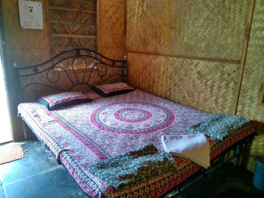 Bed & inside room