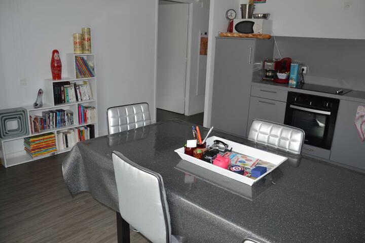 Chambre dans appt rue Gambetta, Grand confort !!! - Lille - Apartamento