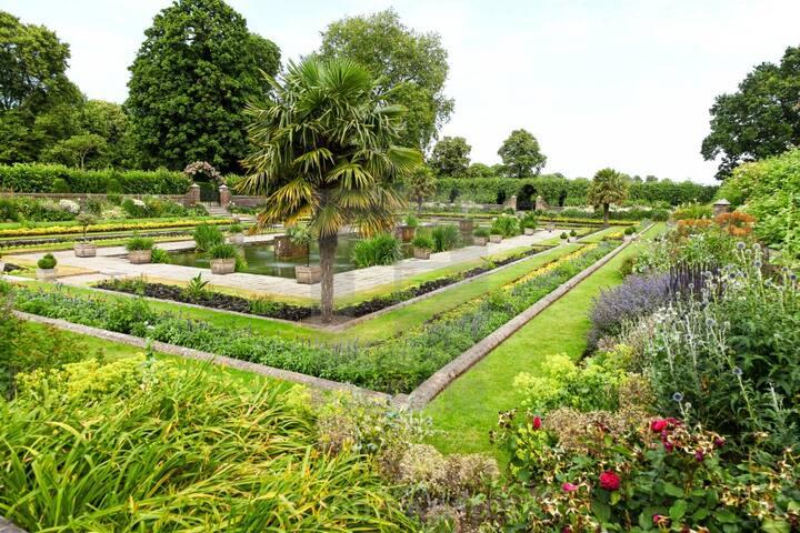 The Famous Sunken Garden