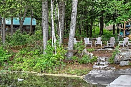 4BR Lakefront Retreat in Denmark, ME - Denmark - House