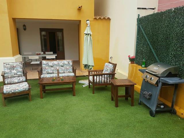 Casa Costa Esuri con jardín privado - Ayamonte - Departamento