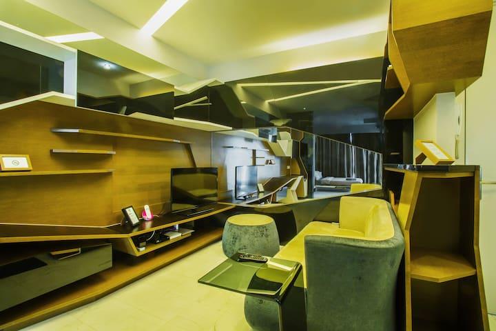 VERVE Suites - Deluxe Suite #5 - Kuala Lumpur - Kondominium
