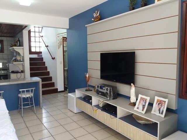 Sala com televisão e ps3