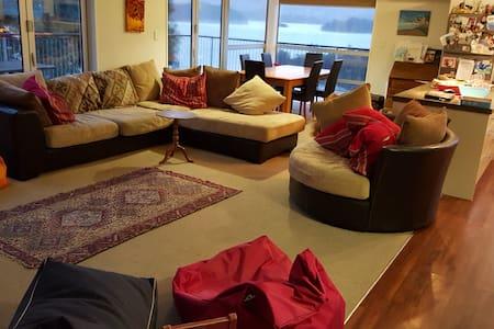 Charteris Bay beach view - Haus