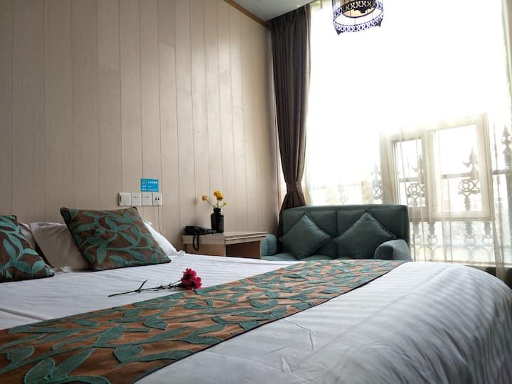 【皇庭小厝 】Hotel !步行可达瘦西湖&东关街&扬州大学瘦西湖校区  独立精致客房