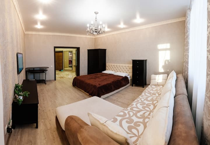 """Уютная 1-к квартира с красивым видом в ЖК """"Паруса"""""""