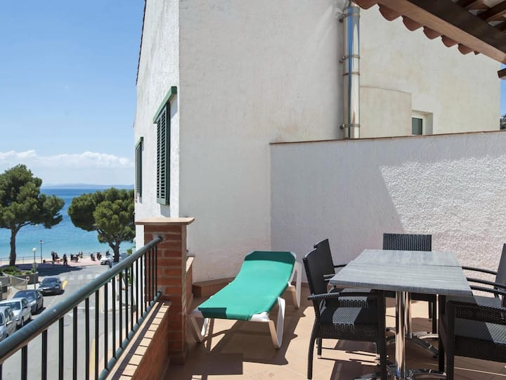 One-Bedroom Apartment Sea View located 50m from the beach.