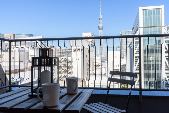 Skytree viewing + Hammock house - Sumida - Apartment