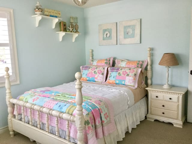 Beautiful bright clean bedroom