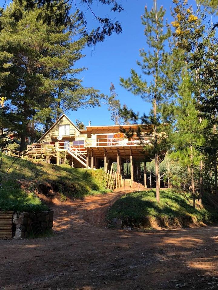 Cabaña en Santa Rosa de Aquelarre, Vichuquen