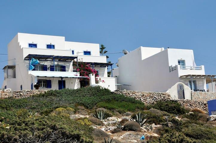 Μεζονέτα 100 m2, ηλιόλουστο, μεγάλες βεράντες - Donoussa - Rumah
