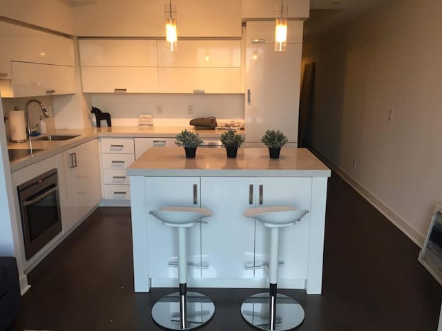 Shiny New Executive 1 Bed Condo in King West