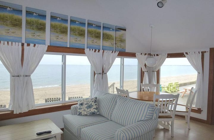 Cottage 2, on Cape Cod Bay