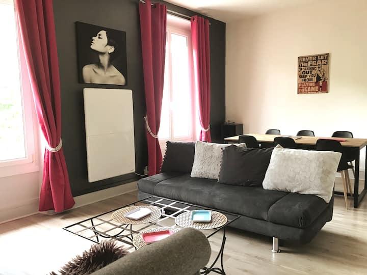 Vizille centre - Grand logement pour 6