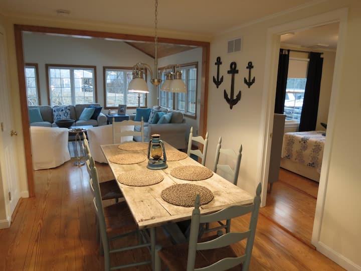 Comfortable Cape Cod Coastal Chic Cottage