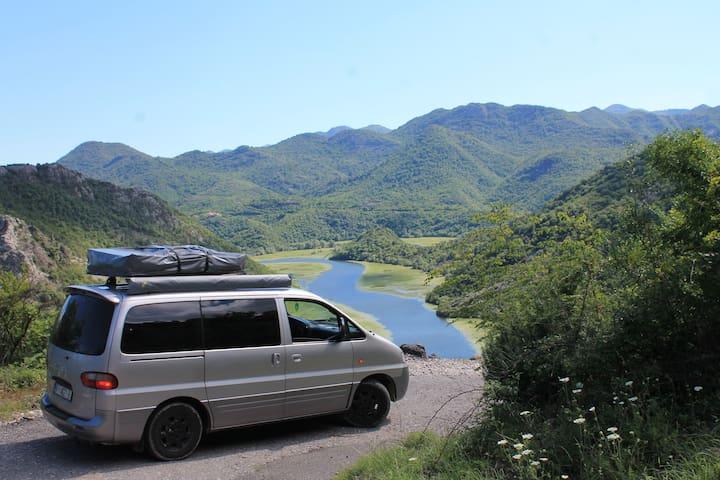Lowriders Rental - camper van pick up in Tivat