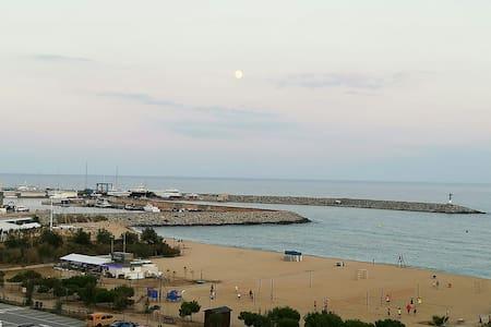 Barcelona coast family home