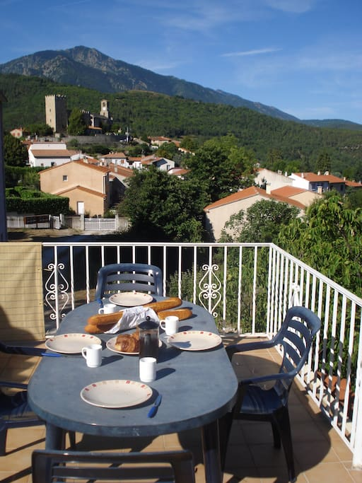 Sunny Terrace with fantastic views