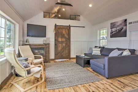 Lakefront Brainerd Cabin w/ Fire Pit & Dock!