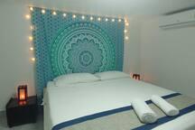 Vue d'une chambre standard