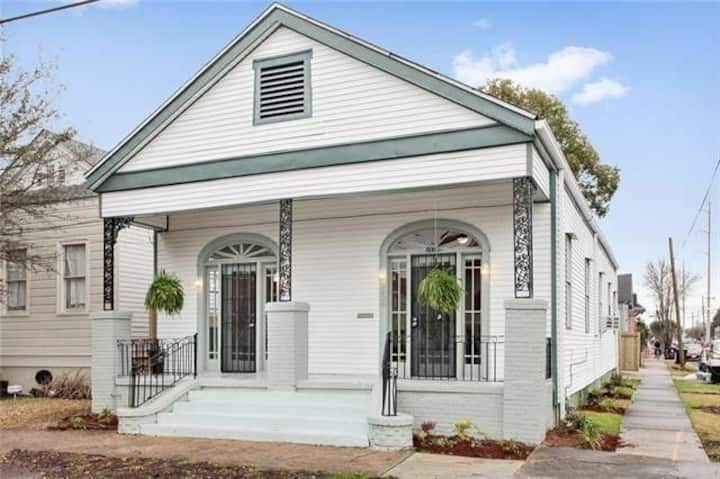 Charming and Bright Bayou St. John Shotgun