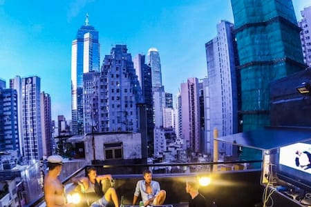 Private roof top studio in the heart of SOHO - 香港 - 公寓