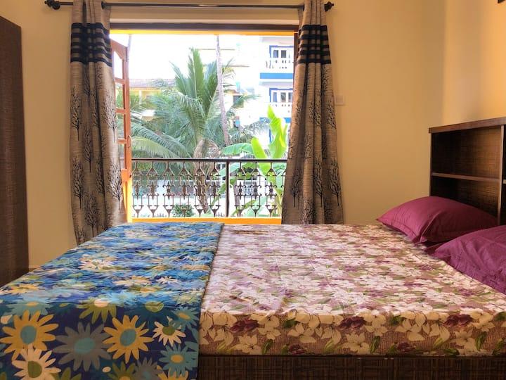 Studio Apartment with Pool Candolim | Casa Stay