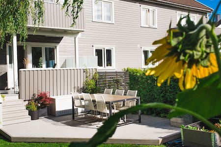 Room in modern appartement with big garden - Kristiansand - Apartemen
