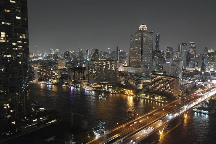 Chao Phraya River View - 75 m² - 30th Floor - BTS