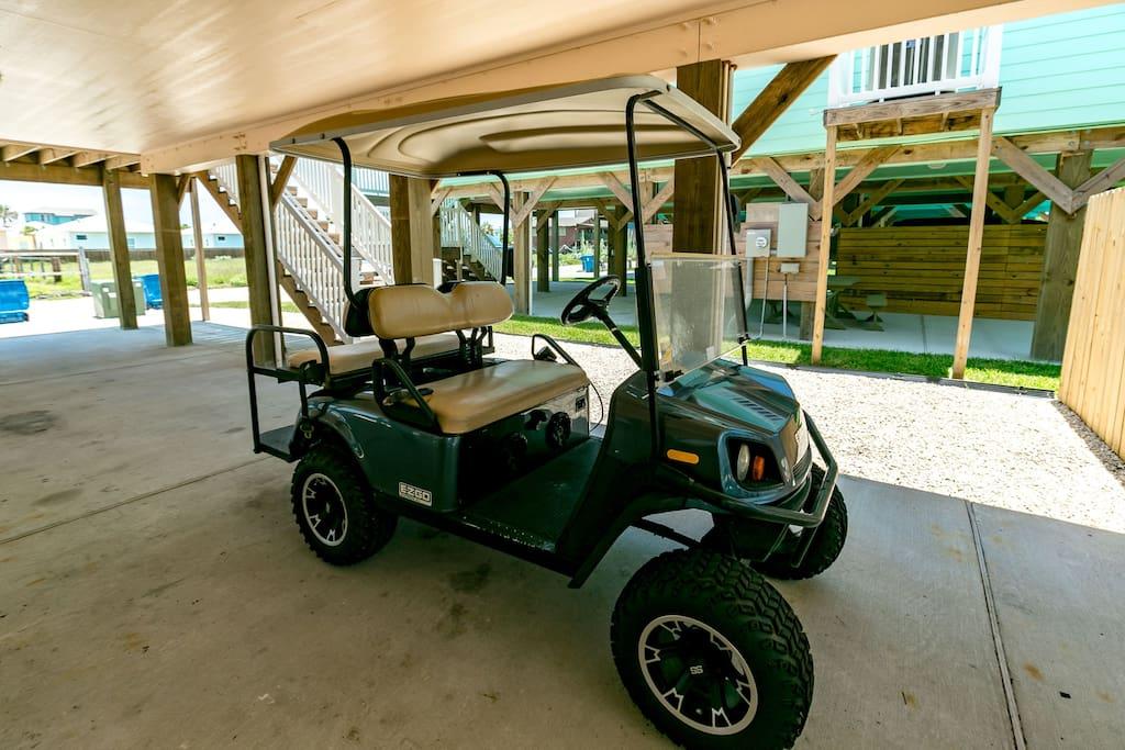 Free Golf Cart