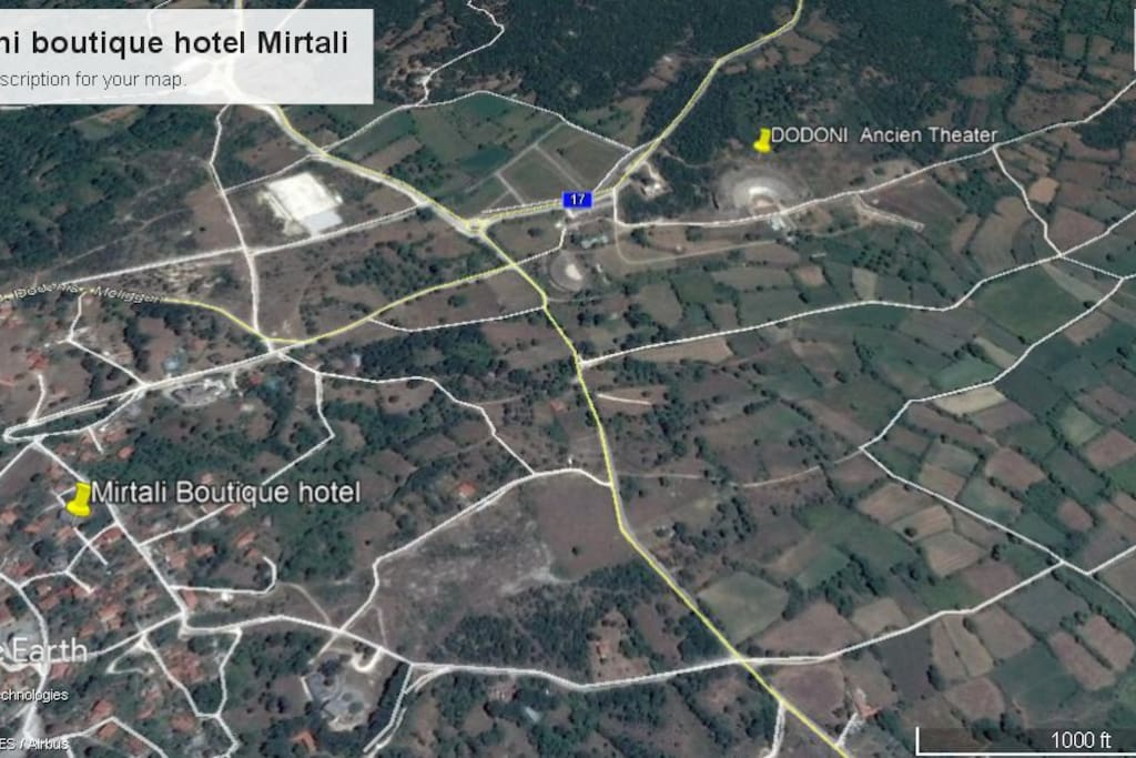 hotel location and Theater