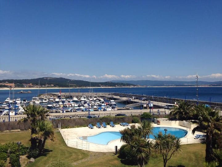 Duplex con piscina en san vicente do mar 2