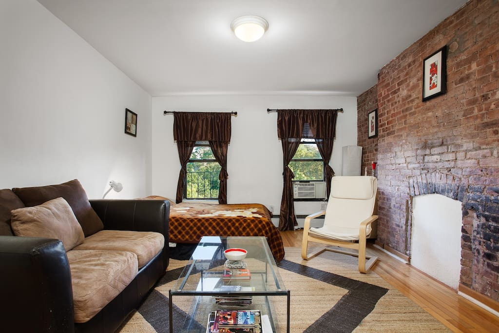 Cozy apartment with exposed brick HEART of NYC ...