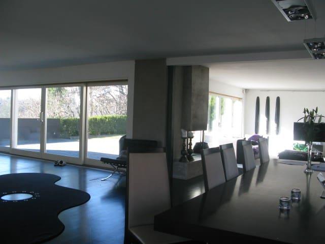 Modern spacious house 10 minutes from city center - Lidingö