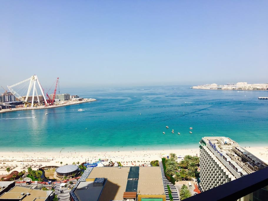 The Best View in JBR! Views of the palm on the right