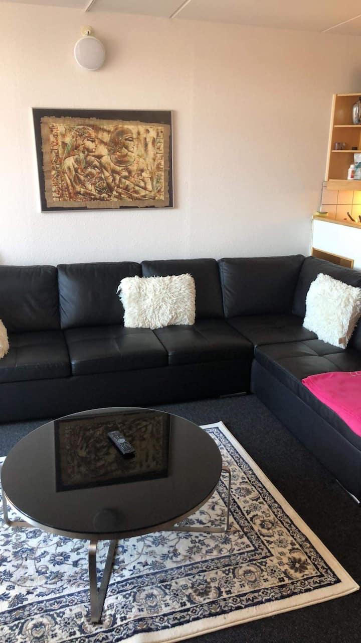 Centrum lejlighed billig pris