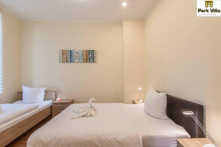 Park Villa Apartments 06,small groups-send request - Bad Kissingen - Serviced apartment