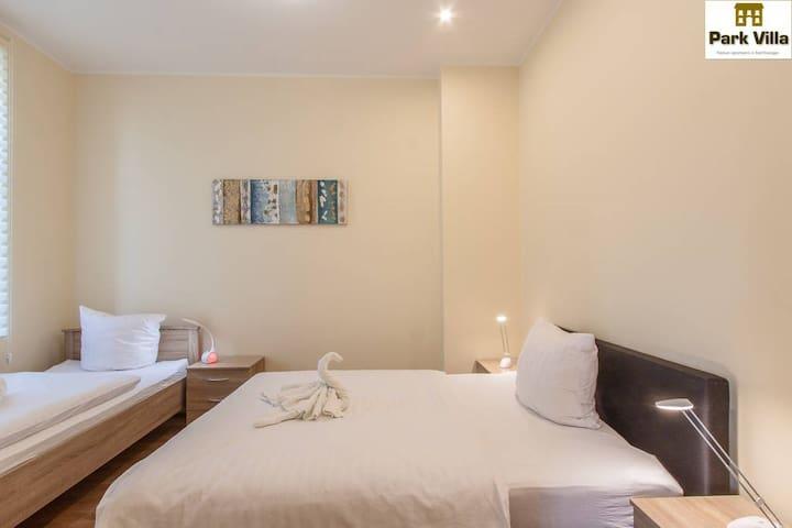 Park Villa Apartments 06,small groups-send request - Bad Kissingen - Aparthotel