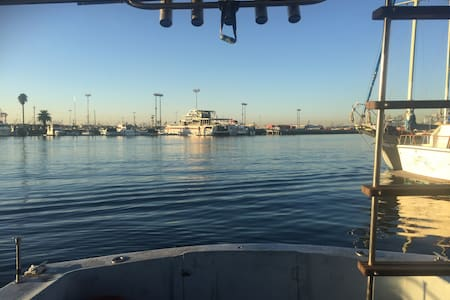 Home on Water for Relaxing - Long Beach - Bateau