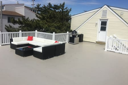 BRIGANTINE 3BR/1B apartment with private deck - Brigantine - Apartemen