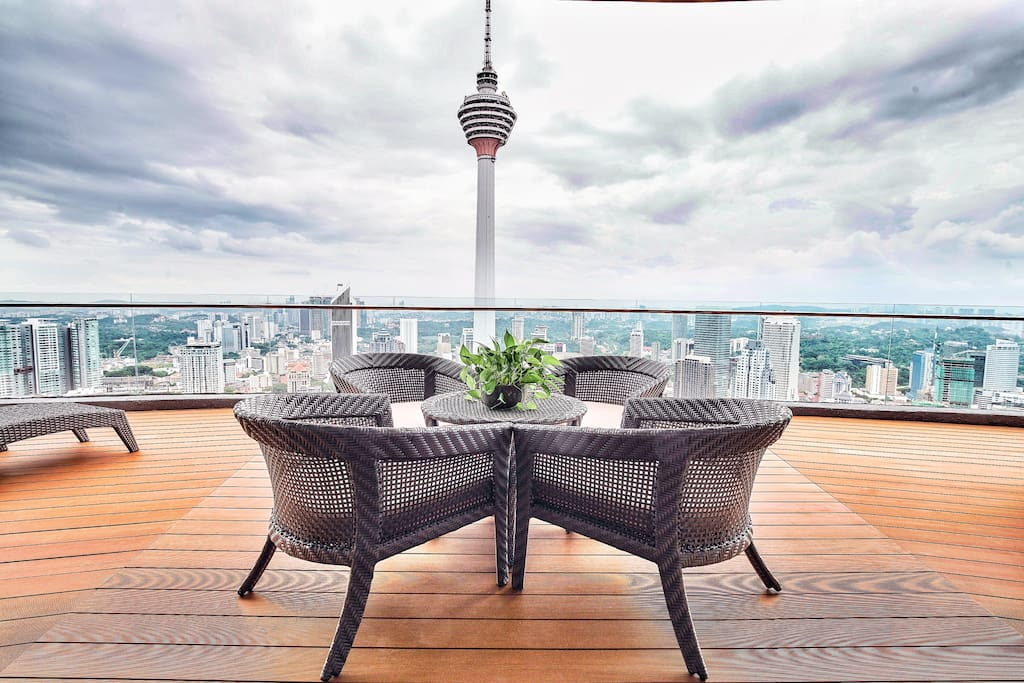 Or with KL Tower View