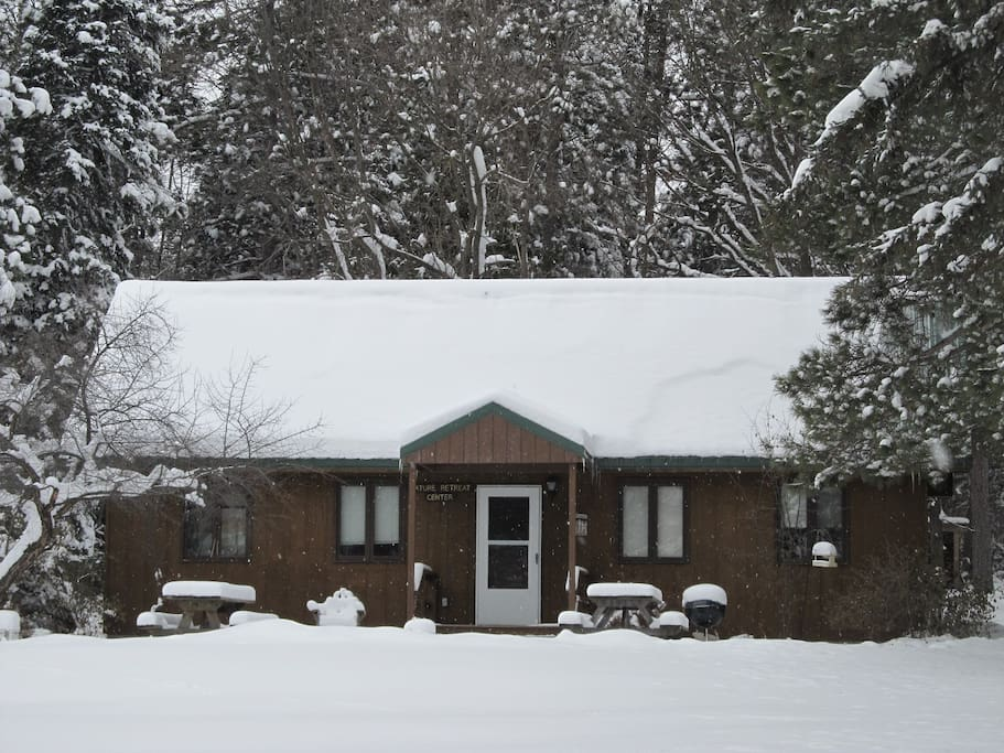 Chicken House in winter