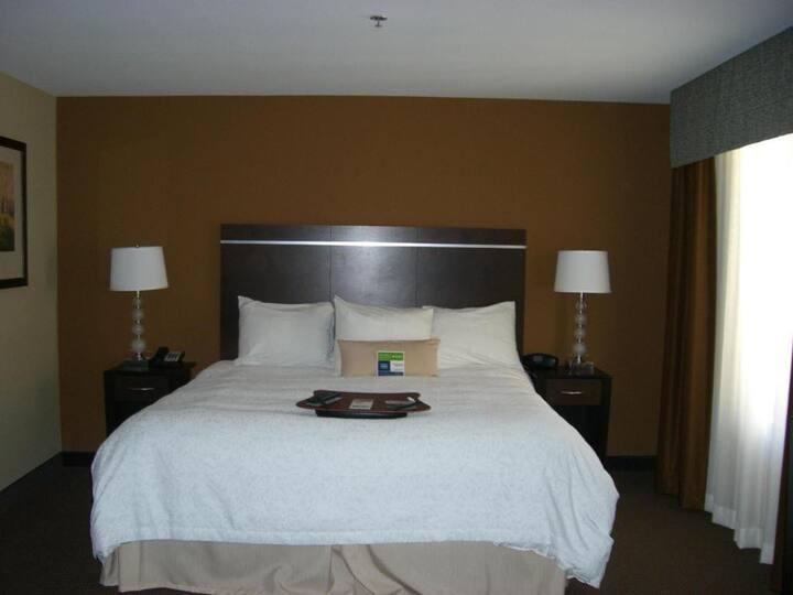 Convenient Double Bed At Pueblo Area