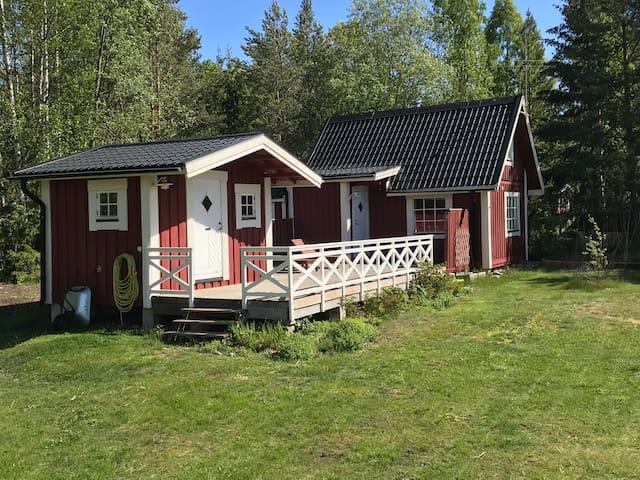 Fritidshus på Blidö med närhet till bad