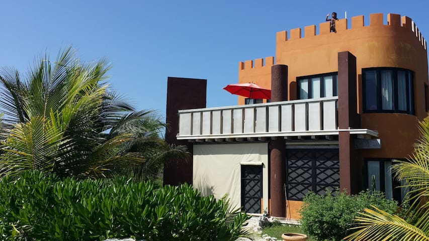 60 m. to caribe, spectacular locale - Isla Mujeres - House