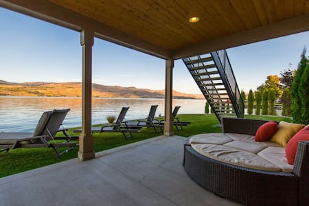 Azure Bay Waterfront Retreat - Chelan - Huis