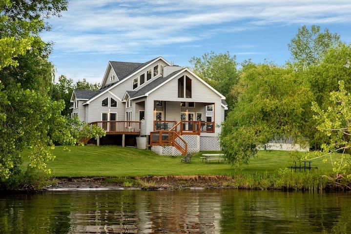 Award Winning Lake Home with 200 ft. of Lake Shore